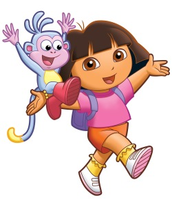 ...I think I look like a much, much paler Dora. I'm not sure how to feel about this.