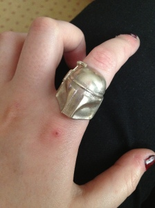 Boba Fett ring - a very lovely gift for all my London planning. Chuffed! Also from the market, it's definitely worth digging around every stall, you really don't know what you might find.